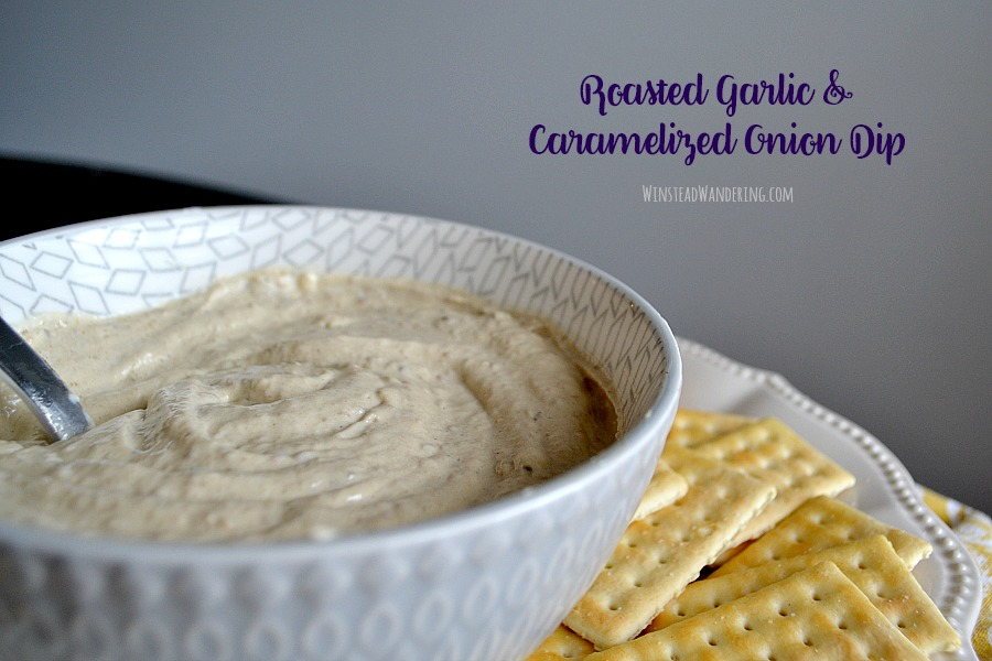 Roasted Garlic and Caramelized Onion Dip is a unique, sophisticated twist on a classic favorite. You'll find the bold flavors and creamy texture irresistible.