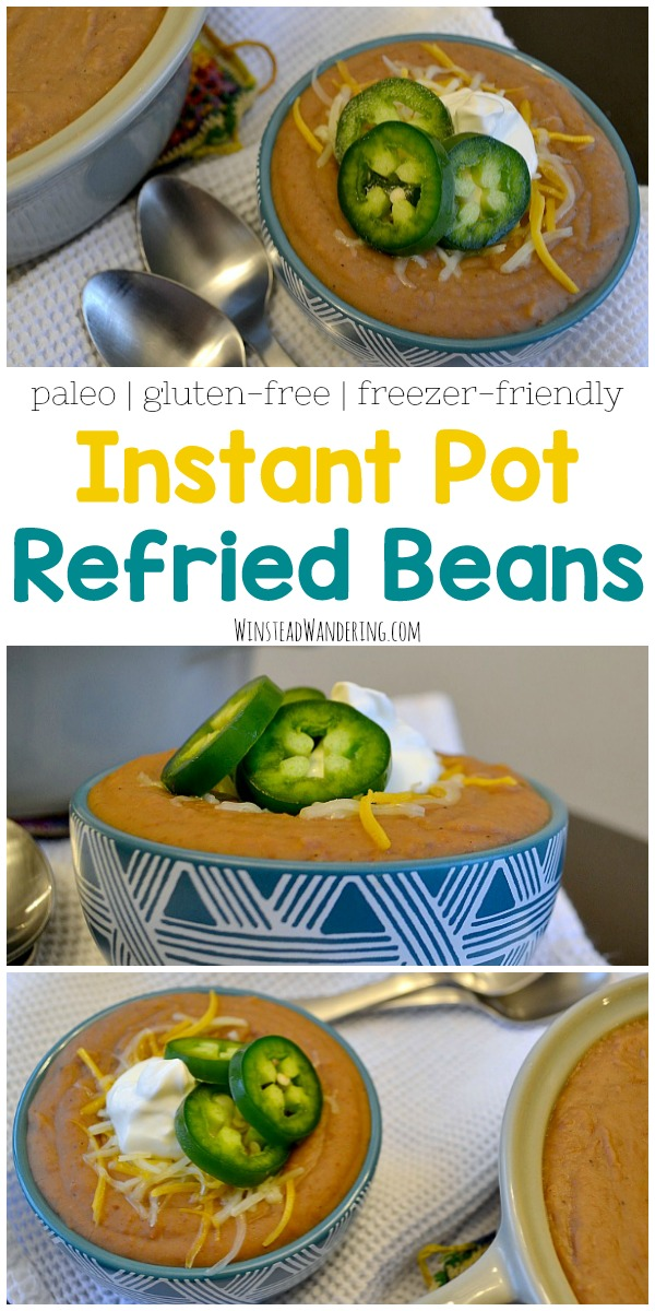 Forget the can, and forget sweating over a hot stove. Instant Pot Refried Beans have that smooth restaurant-style texture you love, with the perfect hint of spice.