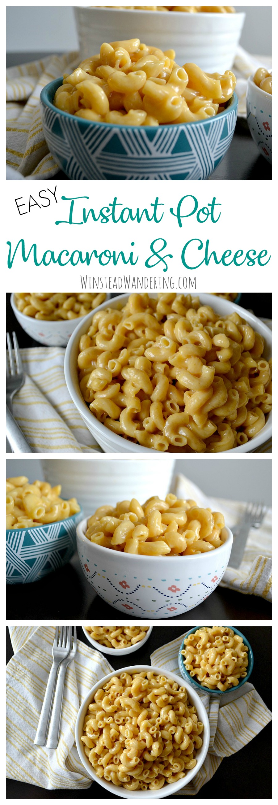 If you aren't using your Instant Pot to experience the creamy, cheesy, gooey goodness of Easy Instant Pot Macaroni and Cheese, what are you even doing with your life?