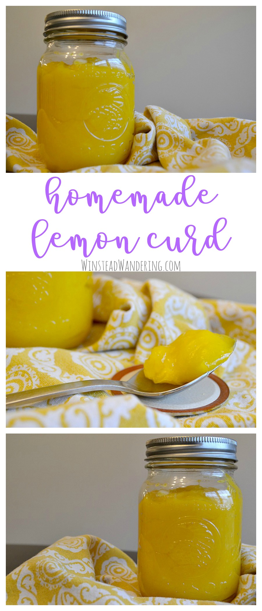 The recipe possibilities are endless and the flavor is unbelievable. You won't regret taking a little extra time to make your own Homemade Lemon Curd.