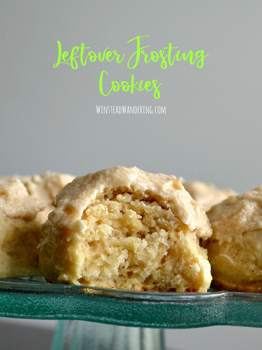 Got frosting? These Leftover Frosting Cookies are easy to make, perfectly fluffy and sweet, and such a fun way to use up what's left after you make a cake or cupcakes.
